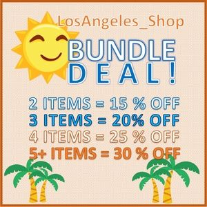 Bundle Deal with Los Angeles Shop!